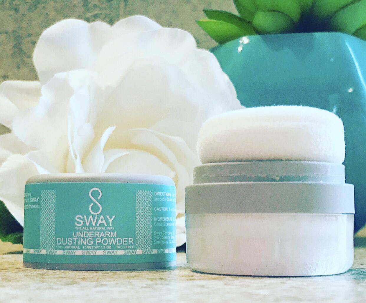 SWAY Underarm Detox Deodorant Vegan