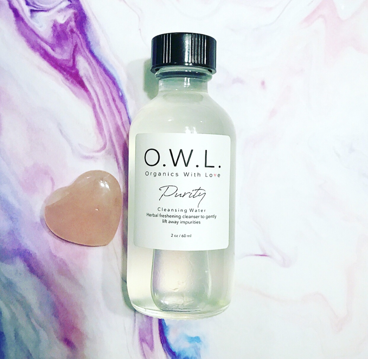 Organics With Love PURITY Cleansing Water
