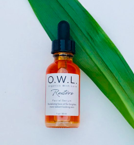 RESTORE Facial Serum from organicswithlove.com