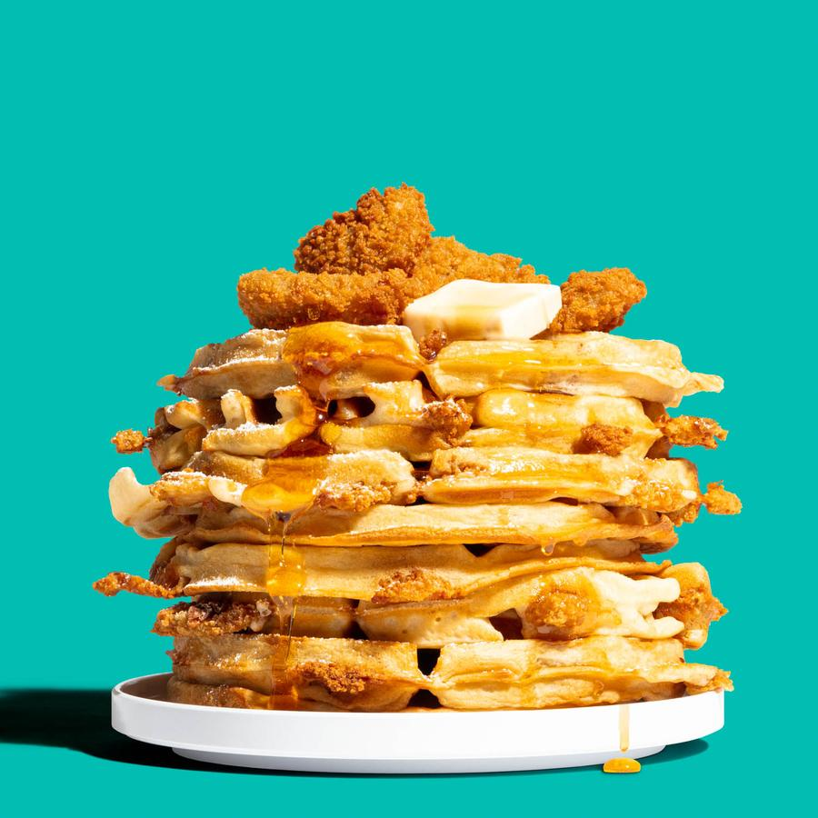 Chicken & Waffles with Nowadays Original Nuggets